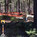 Conventional Surveying in the Forest
